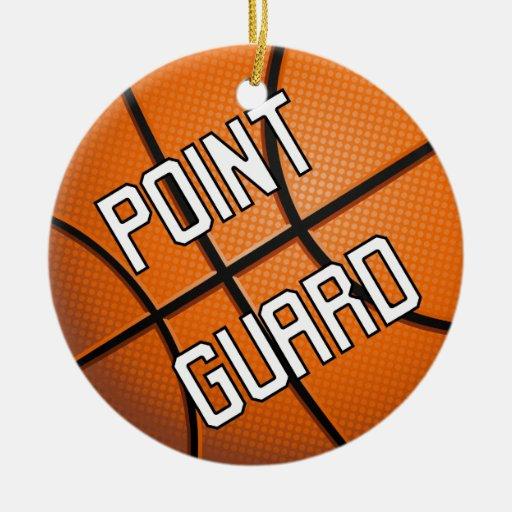 Point Guard Basketball Christmas Tree Ornament