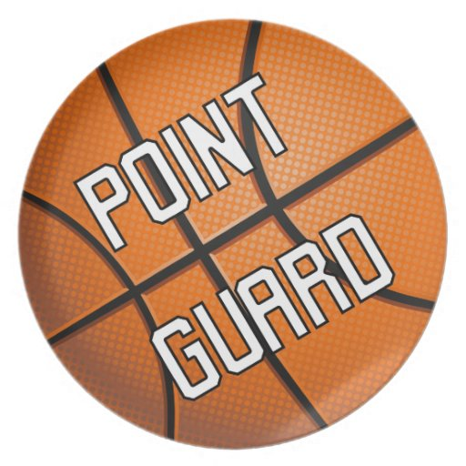 Point Guard Basketball Plate
