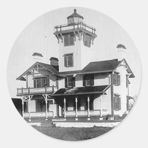 Point Hueneme Lighthouse Classic Round Sticker