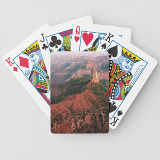 Point Imperial and Mount Hayden at Sunset Bicycle Playing Cards