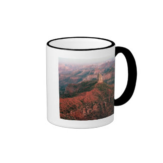 Point Imperial and Mount Hayden at Sunset Ringer Coffee Mug