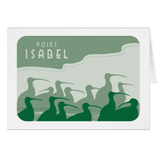 Point Isabel Curlews Greeting Card