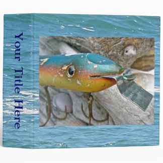 Point Jude Cape Codder Fishing Lure Binder