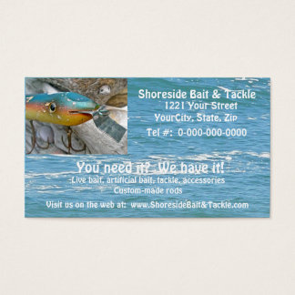 Point Jude Cape Codder Fishing Lure Business Card
