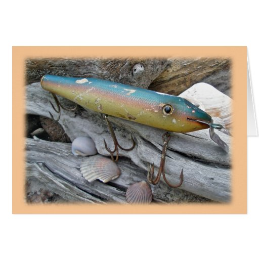 Point Jude Cape Codder Vintage Lure Series Greeting Cards