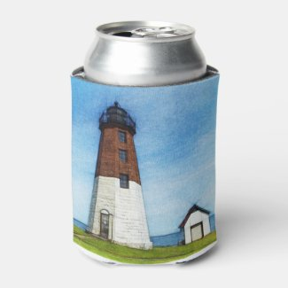 Point Judith lighthouse can cooler