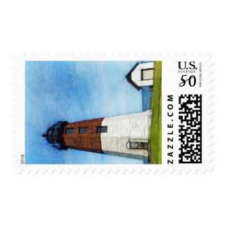 Point Judith Lighthouse Postage