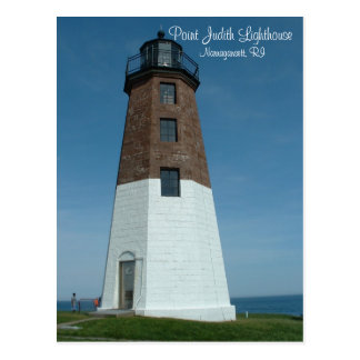 Point Judith Lighthouse Postcard