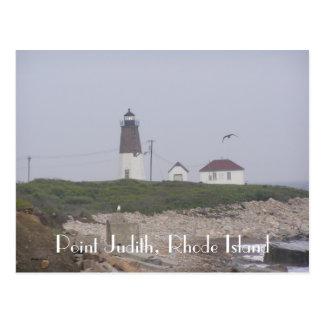 Point Judith, Rhode Island Postcard