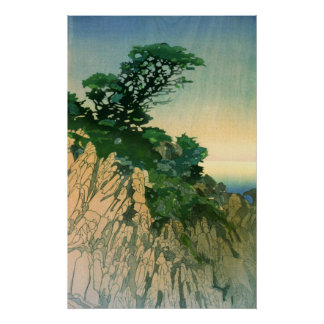 Point Lobos California 1920 Poster