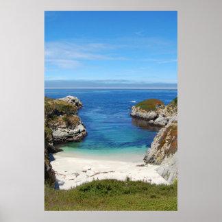 Point Lobos China Beach Poster