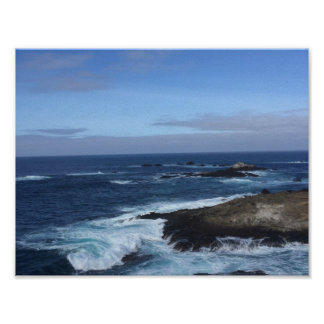 Point Lobos Natural State Reserve Poster