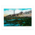 Point Loma and Lighthouse at Low Tide Postcard