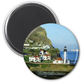 Point Loma Lighthouse 2 Inch Round Magnet
