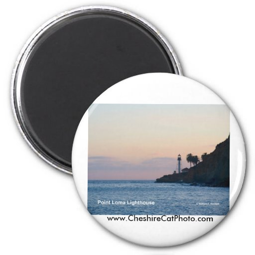 Point Loma Lighthouse California Products Refrigerator Magnets