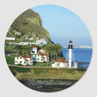 Point Loma Lighthouse Classic Round Sticker