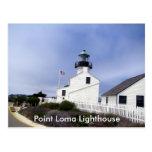 Point Loma Lighthouse Postcard