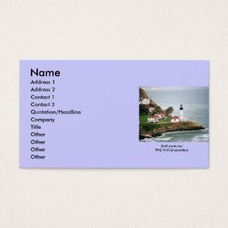 Point Loma Lighthouse / San Diego, CA Business Card