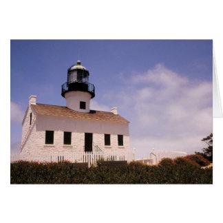 Point Loma Lighthouse, San Diego, California Greeting Card