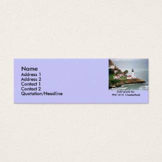 Point Loma Lighthouse / San Diego, California Mini Business Card