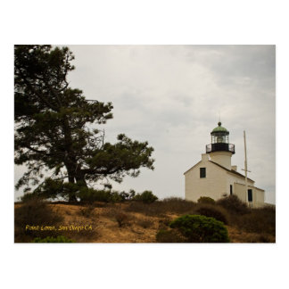 Point Loma, San Diego CA Tarjeta Postal