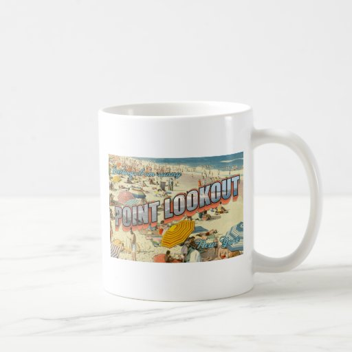 Point Lookout Chamber of Commerce Vintage Mug
