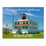Point Lookout Lighthouse, Maryland Postcard