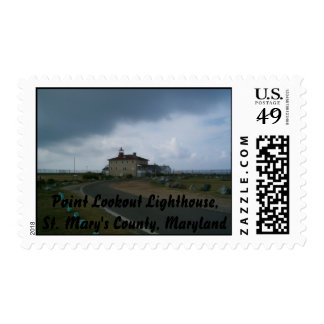 Point Lookout Lighthouse, St. Mary's ... Postage