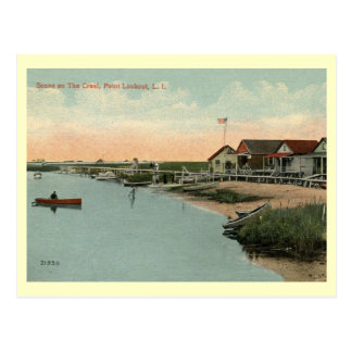 Point Lookout, Long Island, NY Vintage Postcard