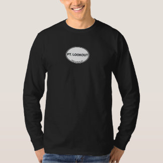 Point Lookout, NY 11569 Long Sleeve Logo T T-Shirt