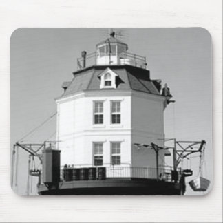 Point No Point Lighthouse Mouse Pad