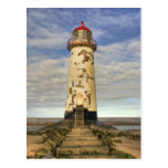 Point of Aye Talacre North Wales  Postcard