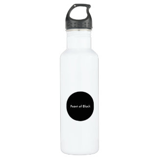 Point of Black 24oz Water BottleZazzle.de