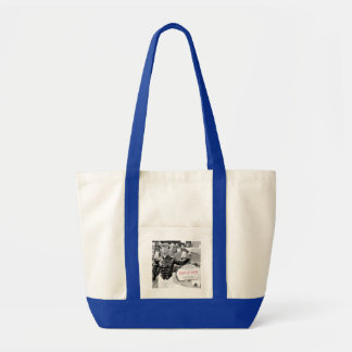 Point of Entry Lawn Jockey Tote Bag