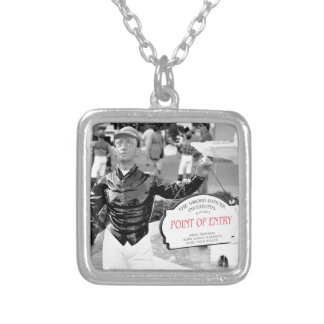 Point of Entry Lawn Jockey Personalized Necklace