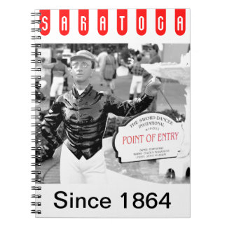 Point of Entry Lawn Jockey Spiral Notebooks