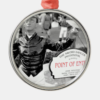Point of Entry Lawn Jockey Christmas Tree Ornament