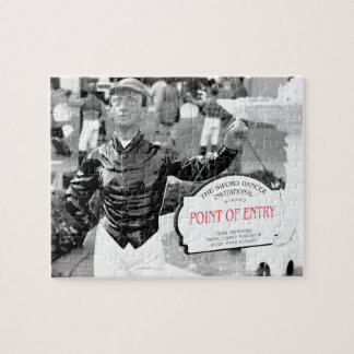 Point of Entry Lawn Jockey Puzzle