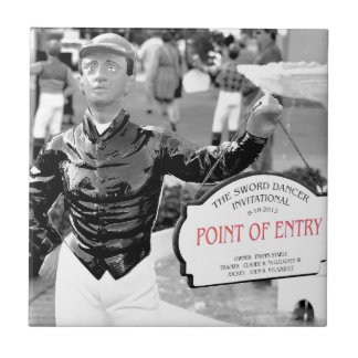 Point of Entry Lawn Jockey Tiles