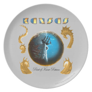 Point of Know Return Dinner Plate
