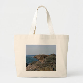 Point of the South Jetty Large Tote Bag