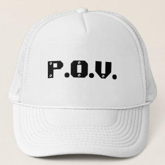 POINT OF VIEW CUSTOM CAP BY WASTELANDMUSIC.COM