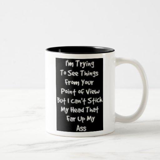 Point of view Two-Tone coffee mug
