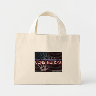 Point On Point - Hands Off Bag! Mini Tote Bag