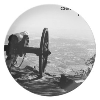 POINT PARK - CHATTANOOGA, TENNESSEE MELAMINE PLATE