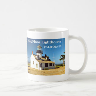 Point Pinos Lighthouse, California Mug