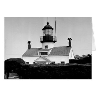 Point Pinos Lighthouse Card