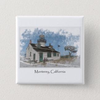 Point Pinos Pacific Grove Monterey California Pinback Button