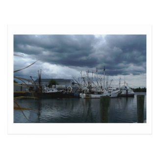 Point Pleasant Beach Fishing Boats Postcard