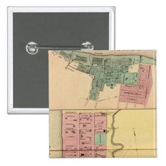 Point Pleasant, Mason Company Pin Cuadrada 5 Cm